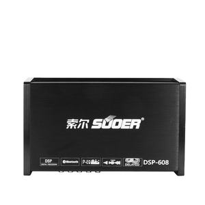 Suoer DSP-608 di Alta qualità processore dsp auto amplificatore audio bluetooth dsp amplificatore audio per auto