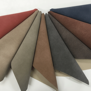 grey PU upholstery super suede fabric leather for car seat cover