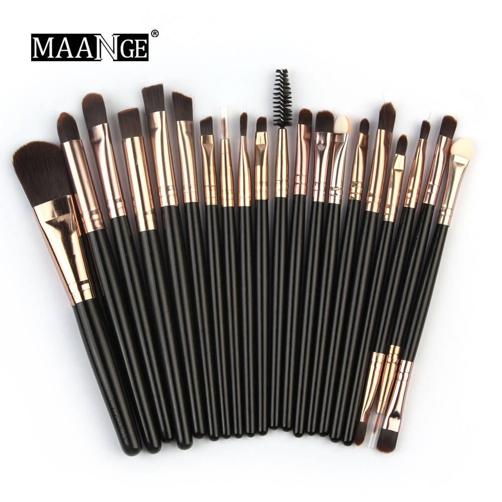 20Pcs Makeup Brushes Set Pro Foundation Power Blush EyeShadow Cosmetic Make Up Brush Tools Kit Wholesale