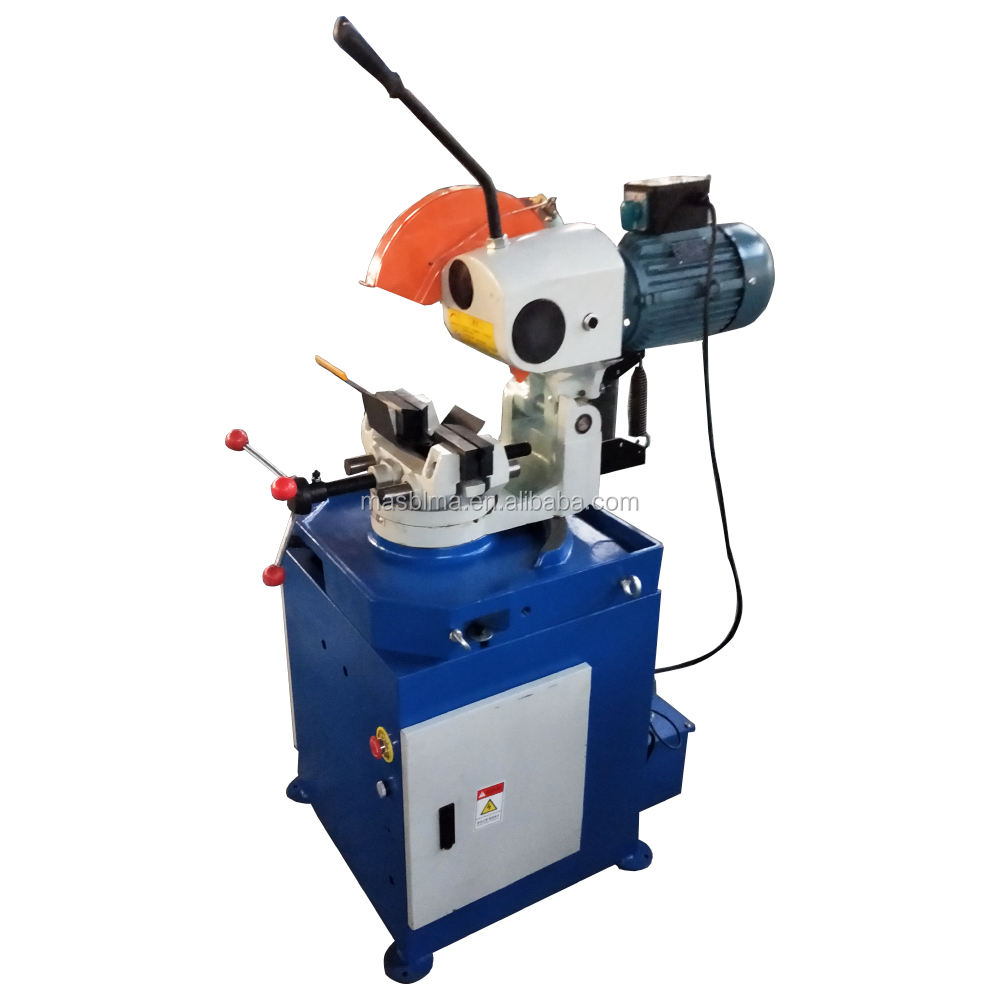 Metal bench cu hydraulic square alloy steel cold saw blade pneumatic pipe cutting machine price