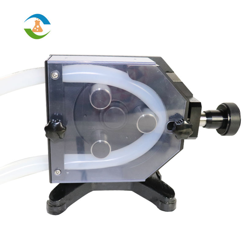 Lab Small Flow Chemical Peristaltic Pump Filling