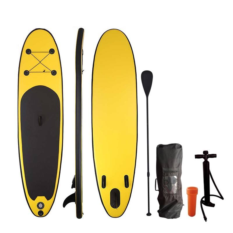 Hot sell inflatable SUP surfboard with pump,carry bag,repair kit