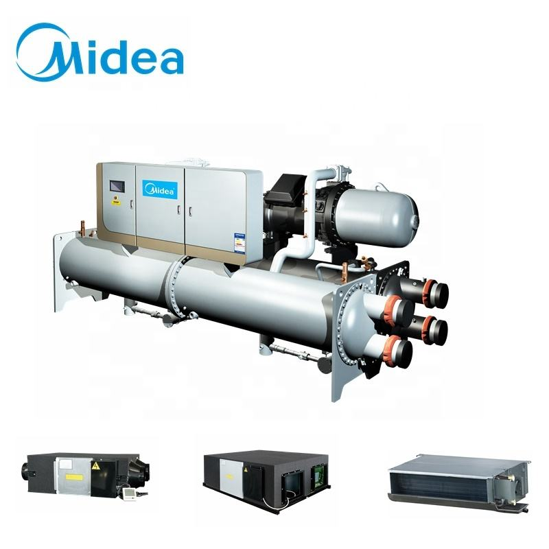 Building Material Shops [ Screw Chiller ] Small Water Chiller Midea 300ton 500ton Industrial Small Water Cooled Screw Chiller Unit Price