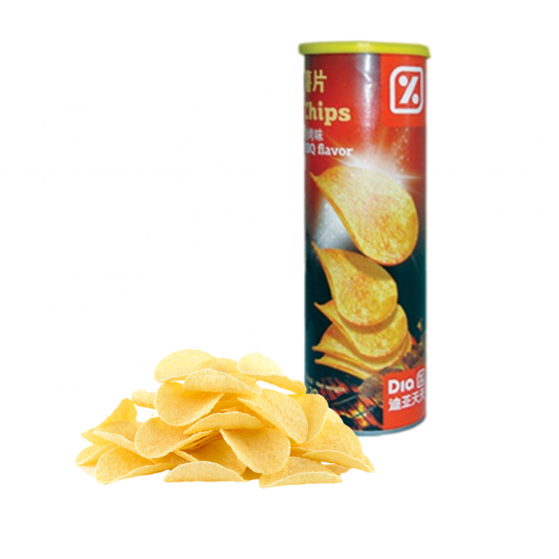 OEM Brand Crispy Snacks Halal Food Tubed Potato Chips