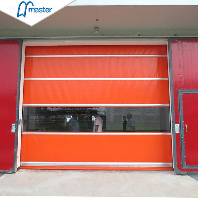 for Industry Security Industrial High Speed Roll Up PVC Door