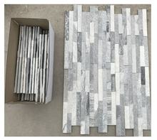Exterior wall tiles design grey slate natural stone wall panels