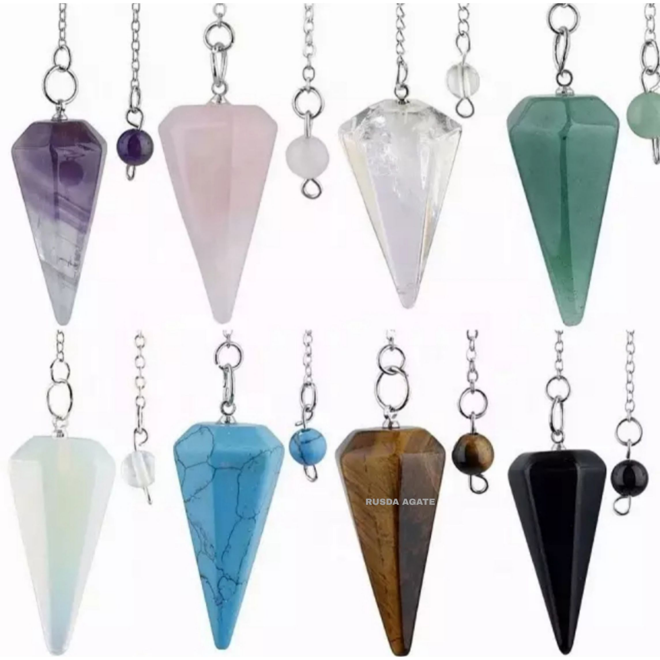 Gemstone Pendulum Wholesale Pendulum Best Quality Pendulums Buy From RUSDA AGATE