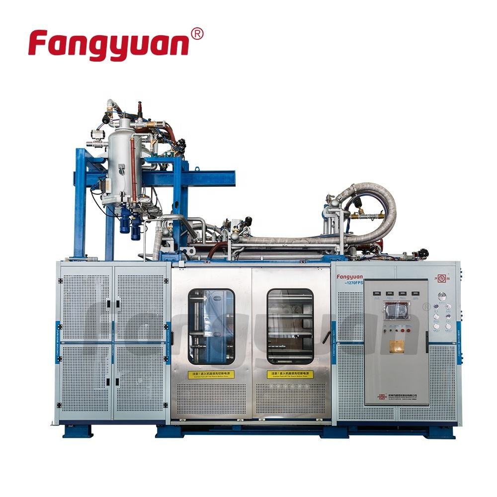 Hangzhou Fangyuan rapide de changement de moule polypropylène expansé en mousse epp moulage machine ligne de production pour EPP avion mousse