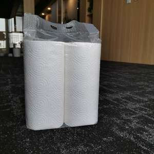 Full embossed individually wrapped paper kitchen  strong oil absorption tissue paper kitchen towel paper
