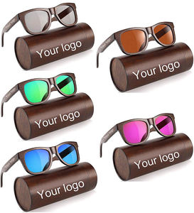 Hot selling amazon wholesale sun glasses cheap bamboo sunglasses 2019 UV400 polarized custom logo sunglasses for man