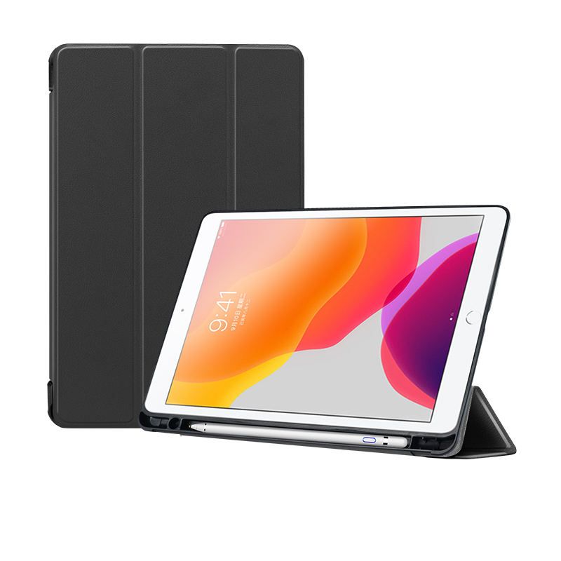 "Tablet case for ipad 10.2"" 2019 7th Gen soft tpu case with pencil slot Funda for ipad 8th generation 2020"