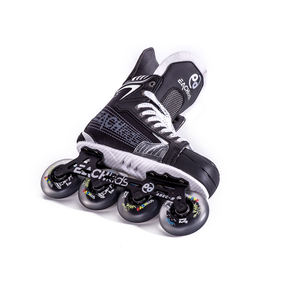 Single row four-wheel adult roller skates Flashing Safe ice Rollers Skates Shoe Outdoor Aluminium