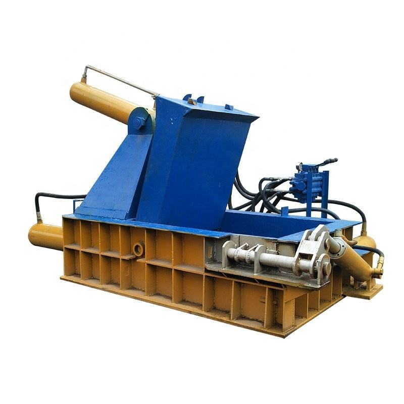 PLC Operating Platform Cold Forming Scrap Metal Baler Machine
