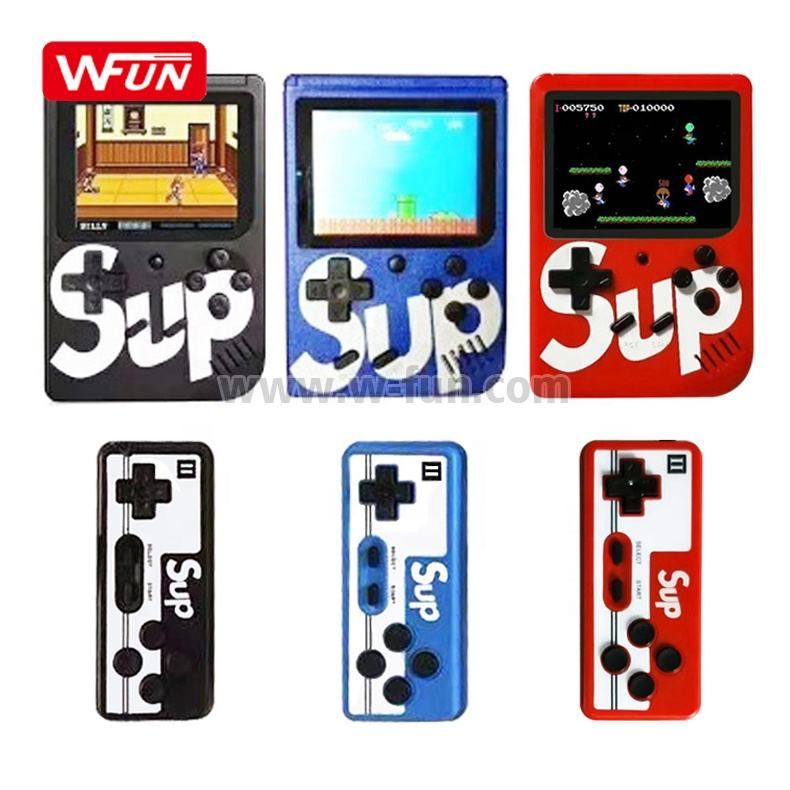 Handheld Mini SUP Video Game Consoles Box 400 in 1 Games Boy with Double Player