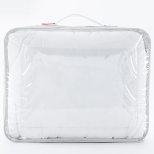 transparent PVC and non woven wire bags for packaging blanket