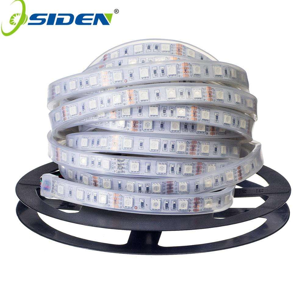 IP67 IP68 Waterproof LED Strip 5050 DC12V High Quality Underwater & Outdoor Safety RGB LED Strip Light 300LEDs 60LEDs/M 5メートル/ロット
