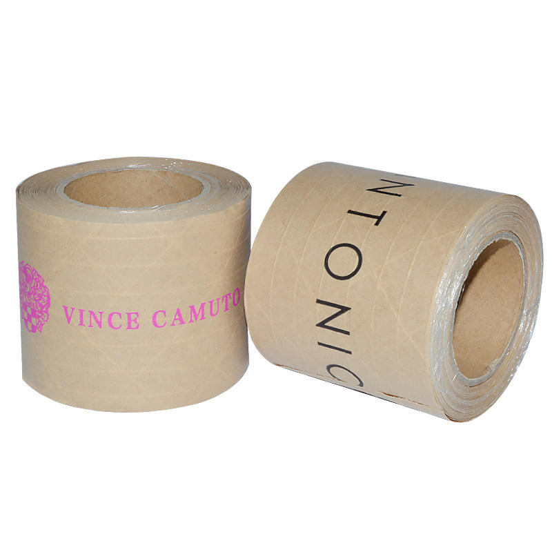 Custom Seal Boxes Reinforced Gummed Paper Security Packing Tape
