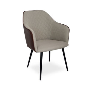 Laynsino New design Hotel Restaurant chairs Modern metal dining chair