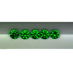 A008 - Natural ural demantoid garnet