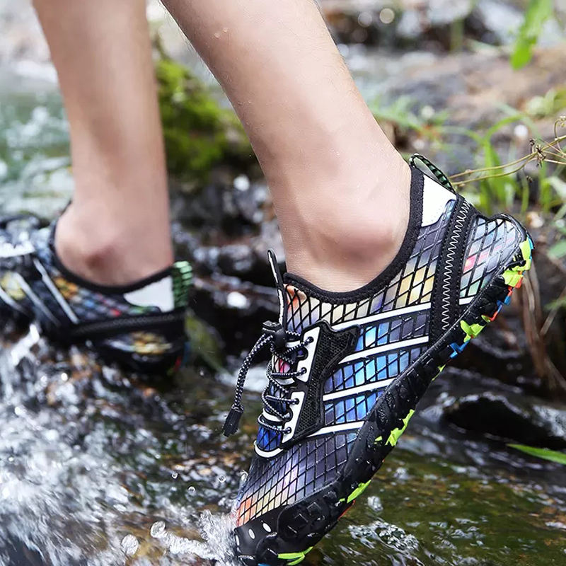 New Arrival Accept OEM/ODM Stylish Elastic Multi-functional Cycling Shoes Aqua Water Shoes