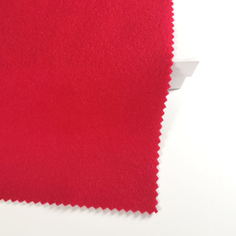 Rayang Textile Wholesale Clothing Fabric Brushed Bonding Fleece for Garmrnt