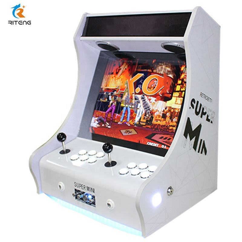 2 players 19 inch coin operated games Cabinet Bartop Joystick Jamma Board Video pandora box Bartop Arcade Game Machine