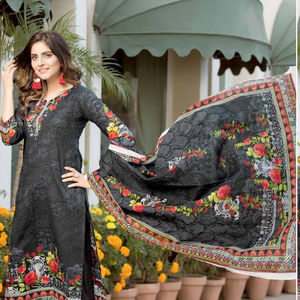 Swiss Lawn collection 2020 Pakistani shalwar kameez for women