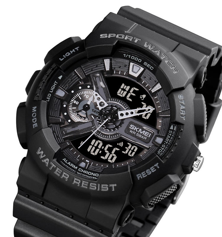 SKMEI 1688ホット販売Men Wristwatch 50メートルWaterproof Sports Analog Digital Watches