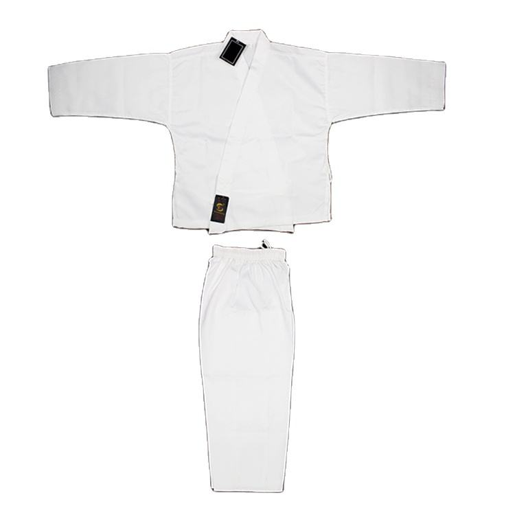 white color canvas fabric karate clothing for adults