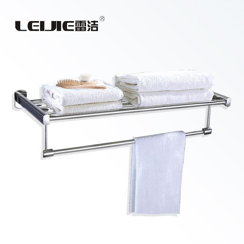 <span class=keywords><strong>Casa</strong></span> de acero inoxidable 304 accesorios de baño de toalla Rack toallas de baño Baño Rack