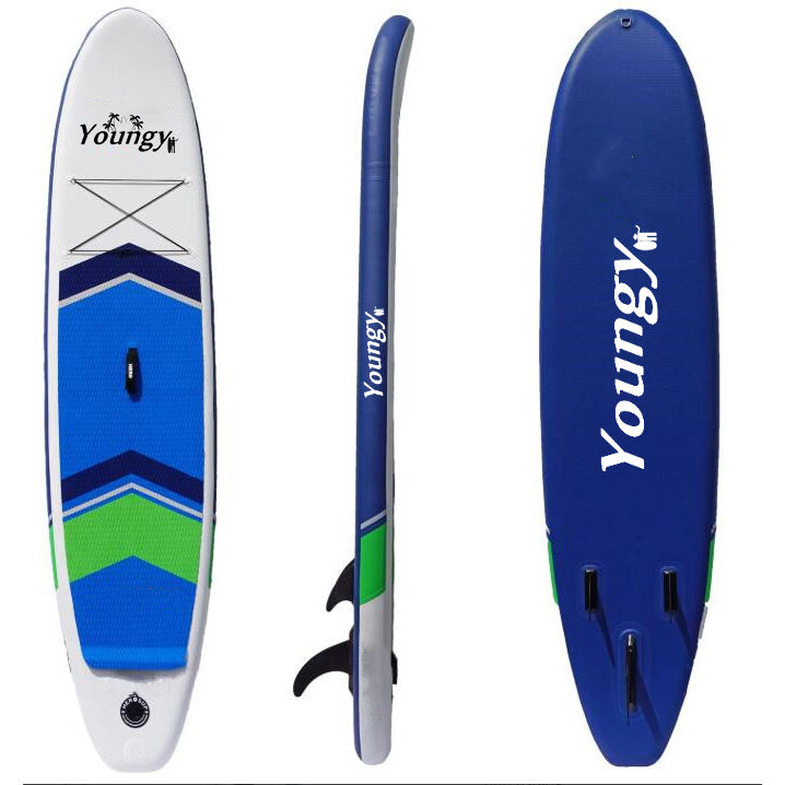 Kayak Water Sports Inflatable jet Surfboards Soft Top Stand Up Paddle Borads Sups with fins
