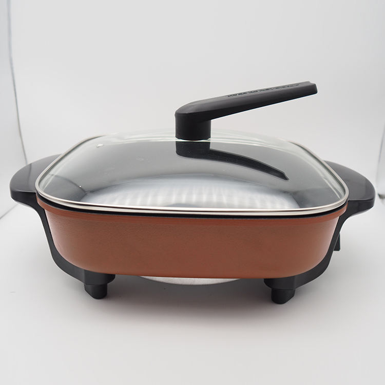 Korean Aluminum Non-Stick Coating Electric Skillet, Electric Frying Pan