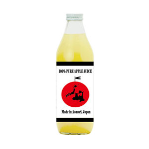 AOMORI APPLE JUICE 100% mixed fruit juice drink from Japan with high quality