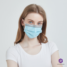 Eco-friendly ce certification 3 ply earloop non woven sterile face mask disposable for children