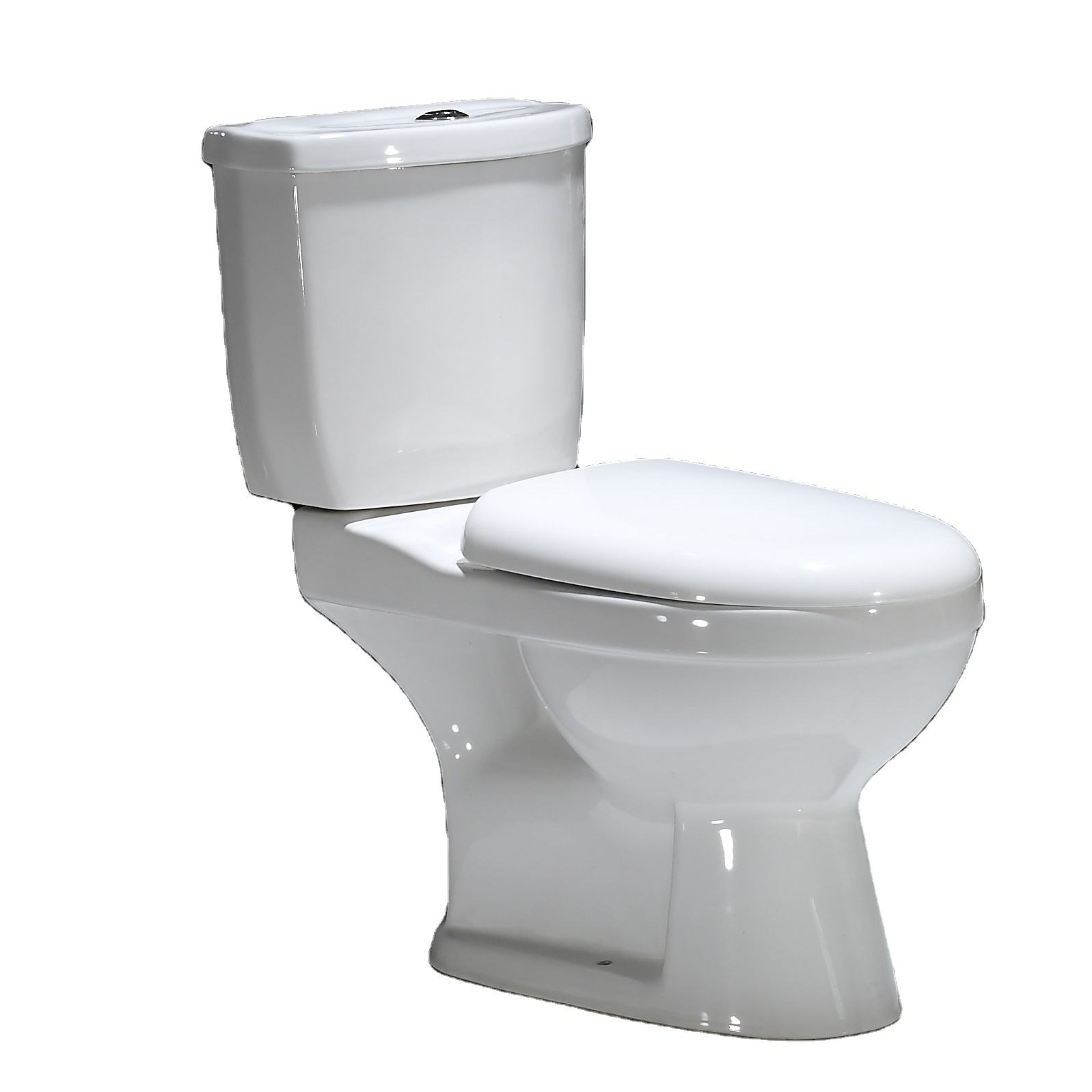 GX015 Washdown Bathroom Prices Modern P Trap Peeing Girl Chinese WC Sanitary Ceramic Ware Two Piece Toilet Bowl