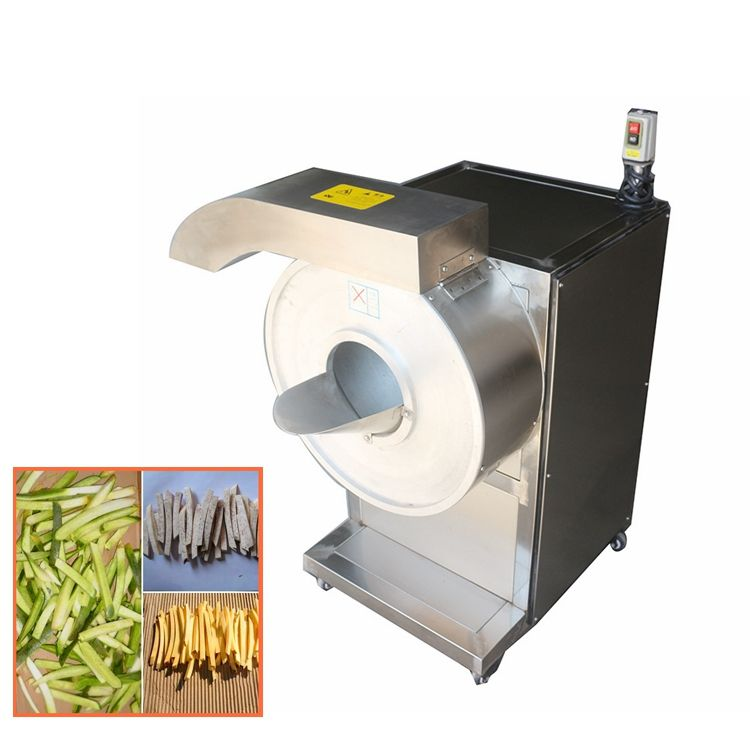 automatic cassava carrot potato slice cutting machine french fries potato cutting