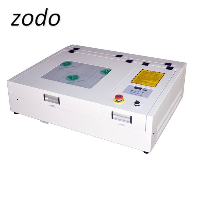 400*400mm desktop laser cutting machine CO2 laser engraver and cutter 40W portable small size laser cutter for arts and crafts