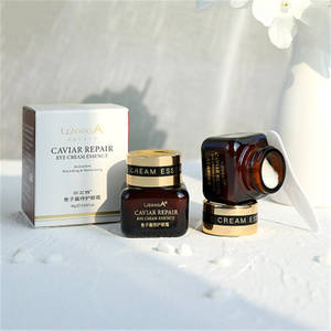 GMPC caviar repairing eye cream for remove dark circles bags under the eyes to relax