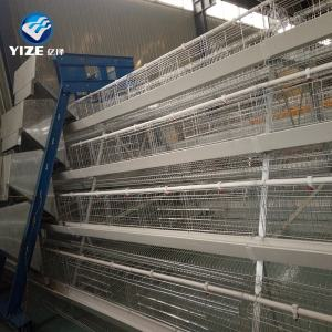 H type chicken cage broiler raising cages for keeping chicken layers ( kenya Uganda Zimbabwe and Nigeria)