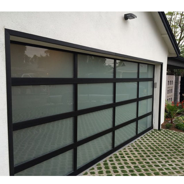 Hurricane Protection Insulated Galvanized Steel Security Sectional Electric Garage Door Price