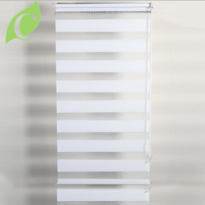 Newest high quality print roller triple shade design zebra blind curtain