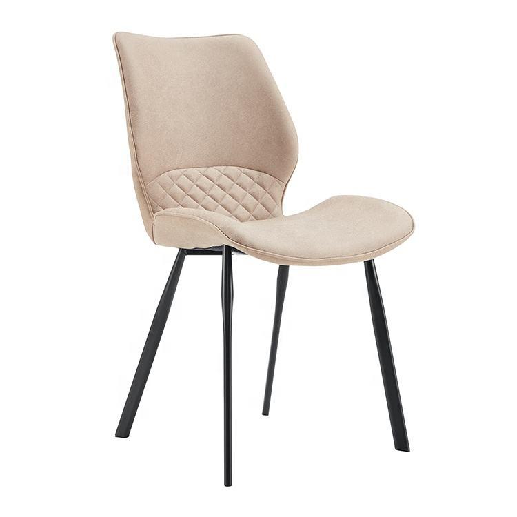 Haute <span class=keywords><strong>qualité</strong></span> <span class=keywords><strong>chaises</strong></span> de salle à manger rembourrée en tissu dinant la chaise