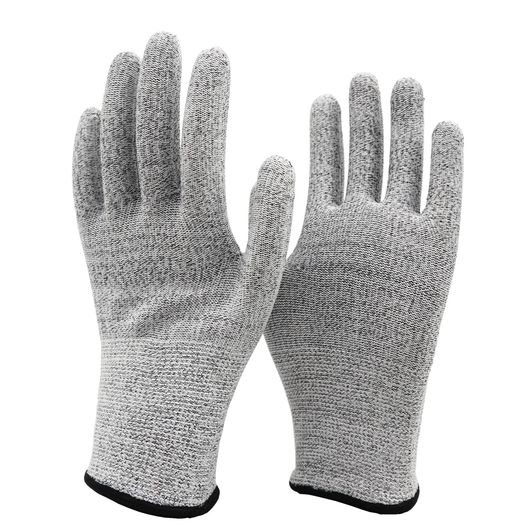 Industrial Work Wearing Cheap 13G HPPE Premium Quality Cut Resistant Glove