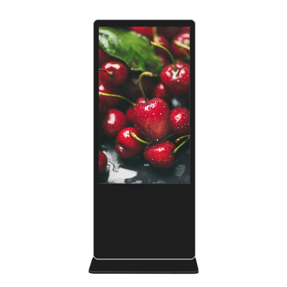 <span class=keywords><strong>LCD</strong></span> lettore multimediale 55 &quot;65&quot; piano del basamento full hd digital signage chiosco