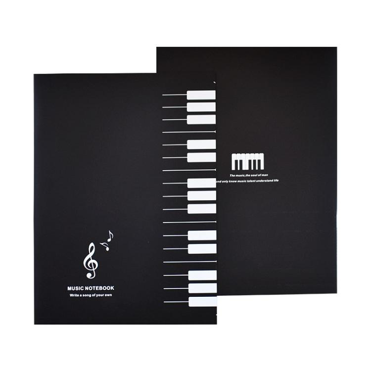 latest product 2019 book size 16 sheets music notebook