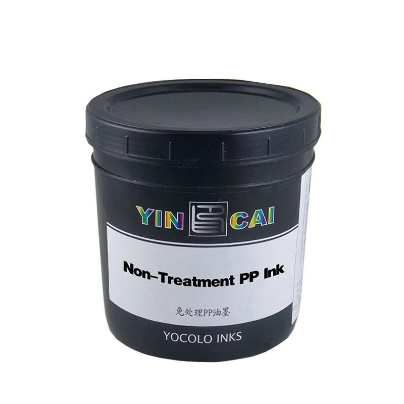 Fast Drying PP Series Ink for Vary Object with Process-Less Ink, Competitive Price Indelible Security Ink PP Plastisol Material