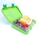 Travel [ 4 Divided ] Leak-Proof Bento Box For Travel Children 4 Divided Portion Japanese Insulated Food Lunch Box Microwave Safe Reusable Bento Box