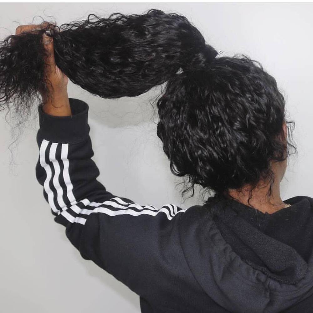Water Wave Human Hair Full Lace Wigs Pre Plucked Natural Hairline With Baby Hair Brazilian Remy Hair Wigs for Women