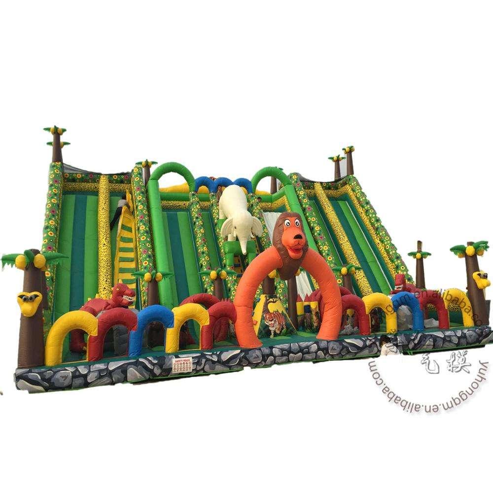 Çocuk popüler İnanılmaz <span class=keywords><strong>atlama</strong></span> arka bahçesinde şişme <span class=keywords><strong>atlama</strong></span> kalesi eğlence parkı slayt