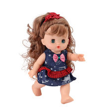 Factory price new lovely soft vinyl mini LOL fashion dolls for kids girl playing with pouted mouth and blinked eyes